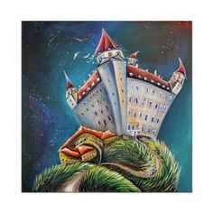 Surrealizmus a fantasy – LUCIA CHOCHOLACKOVA