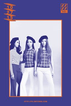Check out f(x)'s group teaser pictures for '4 Walls' ~ Wonderful Generation