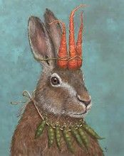 Image result for rabbit art