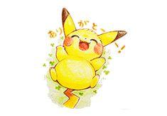 スタンプになったイラストを紹介!|LINE Creators Market×ポケモン 日本全国、想いを届けるありがとうスタンプ Creators Market, Line Creators, Pikachu, Pokemon, Charity, Stamp, Wallpaper, Happy, Fictional Characters
