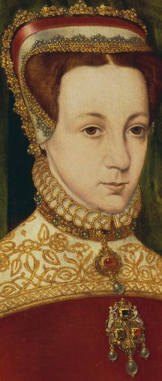 Hans Eworth (1540–1573) Mary Fitzalan, Duchess of Norfolk,1565, detail