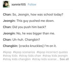 Let's go Changbin *cracks knuckles* fUCK WITH MY BOY