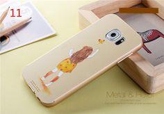Original 3D Relief Metal Bumper mit Back up Hart Kunststoff Schutzhülle für Samsung Galaxy S6/S6 edge und Galaxy S6 edge plus - elespiel.com