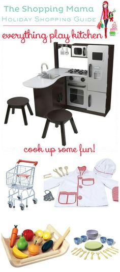 Cook Up Some Fun: everything play kitchen shopping guide. Baby E, My Baby Girl, Baby Kids, Presents For Boys, Play Kitchens, Holiday Gift Guide, Kids Decor, Little People, Baby Fever