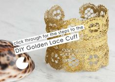 Jewelry DIY: Make A Designer-Inspired Gold Cuff In 7 Easy Steps