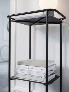 Tray table as a storage solution in the kitchen to display dinnerware. put it to work as modern drinks trolley in a living space, or stack with pot Bean Recipes, Diet Recipes, Healthy Recipes, Table Furniture, Furniture Design, Drinks Trolley, Sofa Side Table, Salad Bar, Scandinavian Design