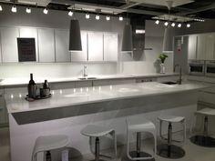 Ikea Kitchen Tour  I love modern kitchens