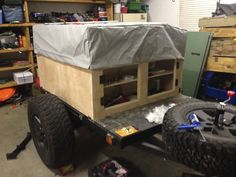 Cargo Trailers, Offroad, Baby Strollers, Tent, Camping, Explore, Image, Baby Prams, Campsite