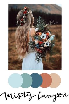 Floral inspired wedding color palettes — Tyler Made Lettering Wedding Goals, Wedding Themes, Our Wedding, Wedding Planning, Dream Wedding, Wedding Decorations, Paris Wedding, Fall Wedding Colors, Color Palette For Wedding