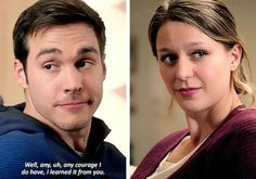 """""""Any courage I do have, I learned it from you"""" - Mon-El and Kara"""