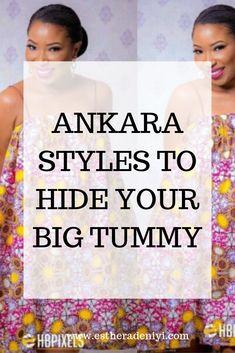 Entari Ankara styles that will hide your big tummy - Esther Adeniyi Ankara Styles For Women, Beautiful Ankara Styles, Ankara Dress Styles, Latest Ankara Styles, Ankara Gowns, Latest African Fashion Dresses, African Dresses For Women, African Print Fashion, Ankara Fashion