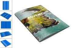 Magazine- Brochure  Mock Up by akropol on @creativemarket