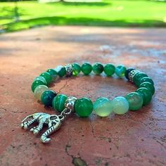 Forest Mala Bracelet avalible on unlockyourchakra