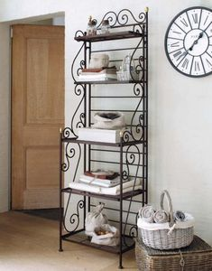 Collection of wrought iron furniture, iron forged furniture designs for different rooms such as iron forged beds, iron forged misc, iron f. Iron Furniture, Steel Furniture, Furniture Decor, Furniture Design, Wrought Iron Decor, Iron Shelf, Home Collections, Shelves, Shelving Units