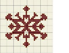 FREE: snowflake #Cross-stitch