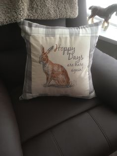A personal favourite from my Etsy shop https://www.etsy.com/uk/listing/613806327/hare-cushion-cover