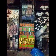 Monday. April 18 2016.  WARNING: NEW YORK CITY GIRLS WILL KILL YOU . WHAT: #mural #nyc.#graffiti. #streetart. #wallart. #spraypaint. #stilllife. #stilllifephotography #urbanscene. #urbanscenery. #newyorkscenery. . #TheDeansList #neverknowwhereyoumightfindme #experiencenewyorkcitywithme  #likeSavoirFaireiameverywhere by mikeadean
