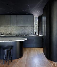 Оформляя дом в Австралии, архитектор Вуд Марш вдохновлялся космическими кораблями.
