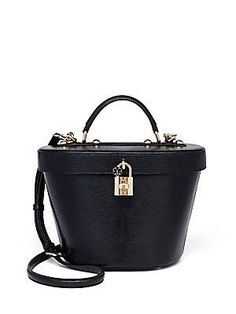 Dolce & Gabbana Leather Bucket Bag