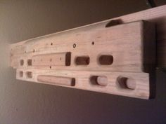 make your own hangboard - Google Search