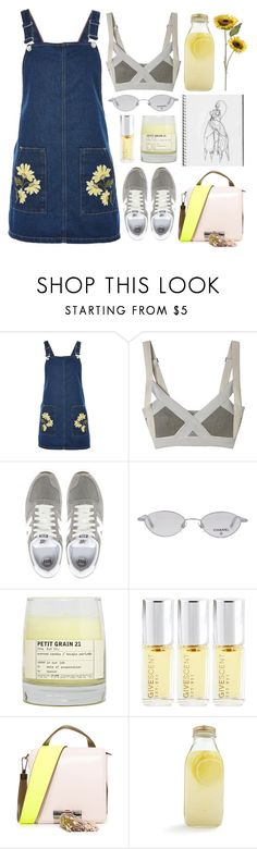 """""""If it wasn't for your misfortune, I'd be a heavenly person today"""" by emmaadv ❤ liked on Polyvore featuring Topshop, New Balance, Chanel, Le Labo, Kenzo, Bormioli Rocco and Pier 1 Imports"""