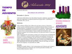 ORACIÓN. Diciembre 11º, JUEVES 2014. 3RA SEMANA DE ADVIENTO ҉҉LOURDES MARÍA BARRETO҉҉