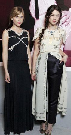 Clémence Poésy & Astrid Berges-Frisbey ♥