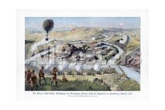 The Battle of Paardeberg, South Africa, Second Anglo-Boer War, February 1900 Giclee Print by Richard Knotel - AllPosters.ca