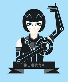 Quorra by ~Helbetico on deviantART