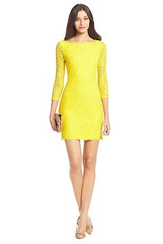 DVF Zarita Lace Dress