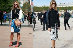 Trendy ways to wear a varsity jacket