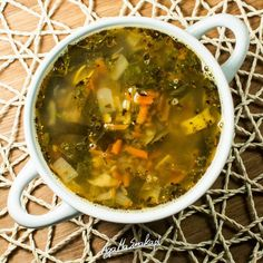 Rozgrzewająca zupa z soczewicy - idealna na infekcje i walkę z drobnoustrojami! ⋆ AgaMaSmaka - żyj i jedz zdrowo!