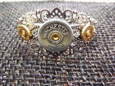 Bullet jewelry shotgun jewelry silver by SouthernTouchDesigns  #craftshout0125 #handmade #etsyhandmade