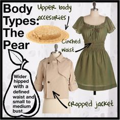 pear shape body clothes: Layer it up. Layering garments can balance a pear-shaped body by adding visual interest to the top half of the body.