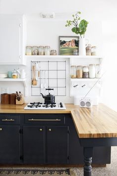 Maybe now you feel inspired to get down with DIY in your own kitchen. Remember — reusing old fixtures can produce beautiful, inexpensive results with a little hard work.