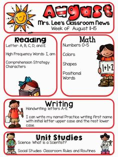 Summer Learning Packet   Kindergarten Nana