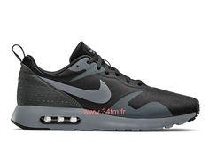 new style 35123 af5bd Nike Air Max Tavas Chaussures Gris Noir Livraison gratuite Pour Homme  705149 001-Site officiel