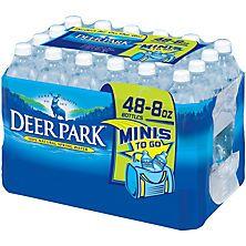 Deer Park Natural Spring Water (8 fl. oz. bottles, 48 ct.)