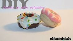 polymer clay donut tutorial - YouTube