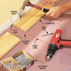 How to Install Pine Floors