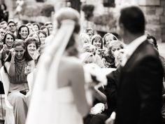 Wedding photography, guests