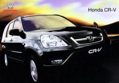 Honda CR-V Mk2 Thailand Brochure 2003