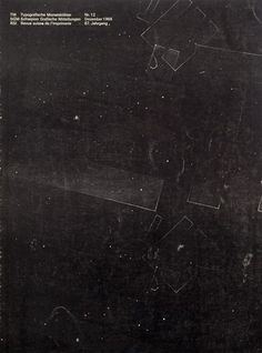 Cover from 1968 issue 12 (Cover Design: Hans Ferdinand Egli) Overlays Picsart, Photoshop Overlays, Graphic Design Posters, Graphic Design Inspiration, Typography Design, Photoshop Elementos, Rocknroll, Photo Texture, Texture Photography