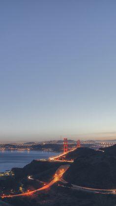 Golden Gate Bridge City IPhone Wallpaper