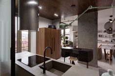 Industrial Apartment Inspired by KENZO Style