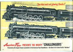 American Flyer Trains - 1954 A.C. Gilbert Toy Catalog Pg24