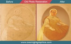 OverNight Graphics is a professional old photo restoration service provider in USA. Get you image editing and old photo restoration service OverNight.