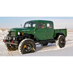 Check out this Dodge Power Wagon built by Legacy Classic Trucks. Dodge Power Wagon, Dodge Wagon, Dodge Trucks, Cool Trucks, Pickup Trucks, Cool Cars, Small Trucks, Legacy Power Wagon, Classic Trucks