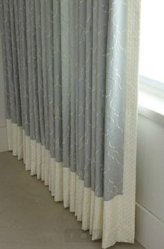 Unique Window Treatment Ideas | decorative banding | Custom Window Treatment Ideas