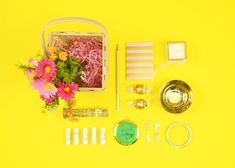 DIY Adult Easter Baskets | Easter and Spring Crafts | via Spark & Chemistry blog